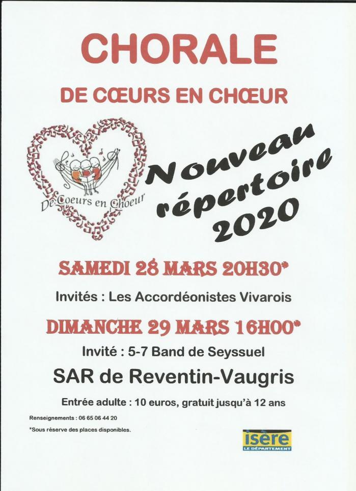 Affiche concert reventin 2020