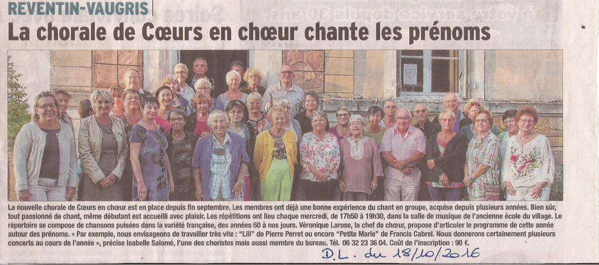 Article rentree octobre 206
